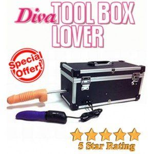 DIVA TOOL BOX LOVER SEX MACHINE