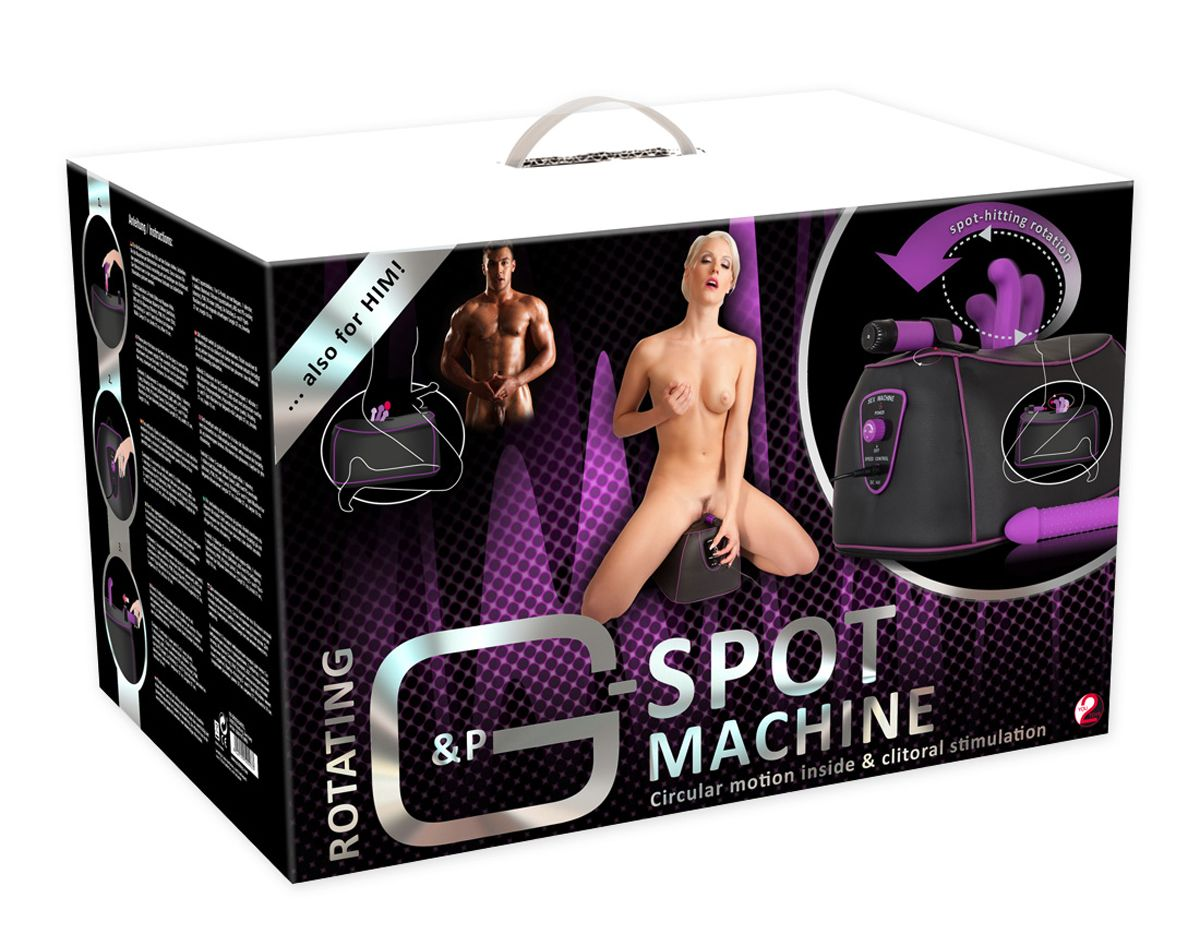 You2Toys Rotating G-Spot & P-Spot Machine – Fuck Machine