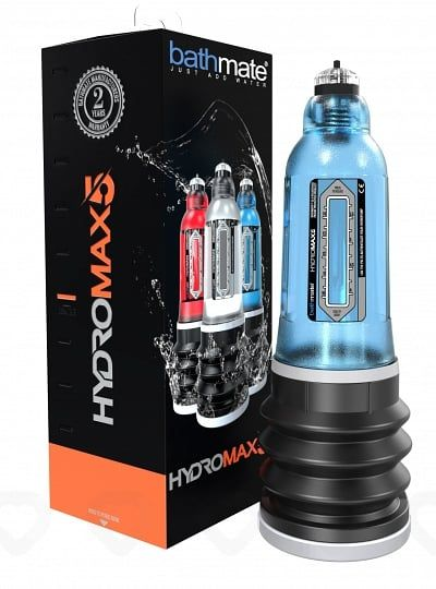 Développeur Hydraulique Bathmate HYDROMAX 5 Bleu