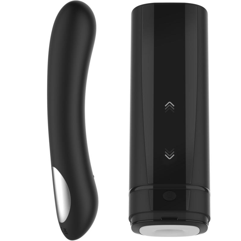 Coffret pour Couple Masturbateur Onyx 2 + Vibromasseur Pearl 2 Noir